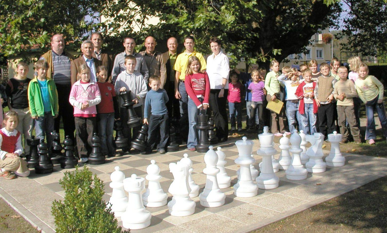 Outdoor Schach-Anlage